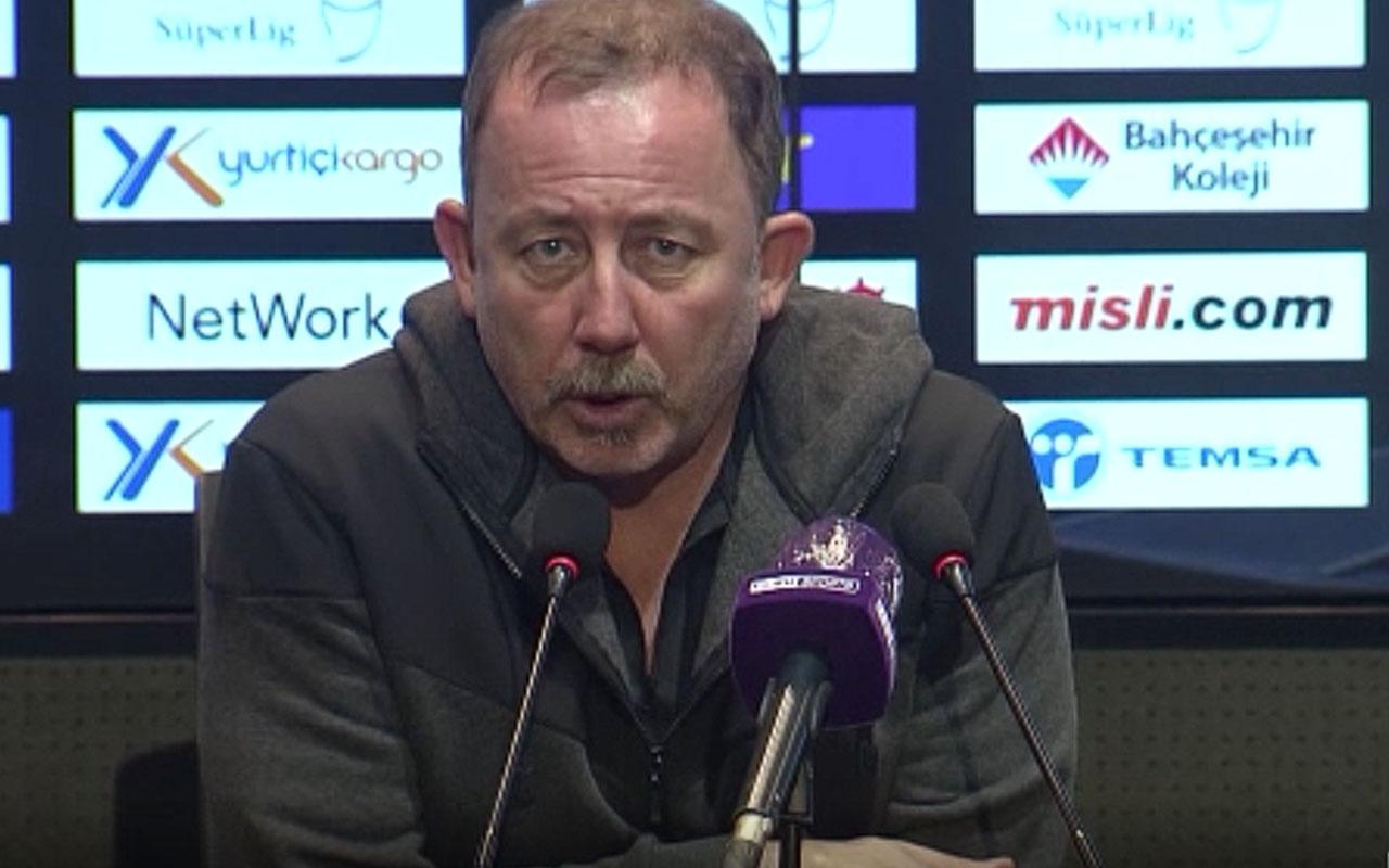 Sergen Yalçın, Başakşehir maçı sonrası konuştu