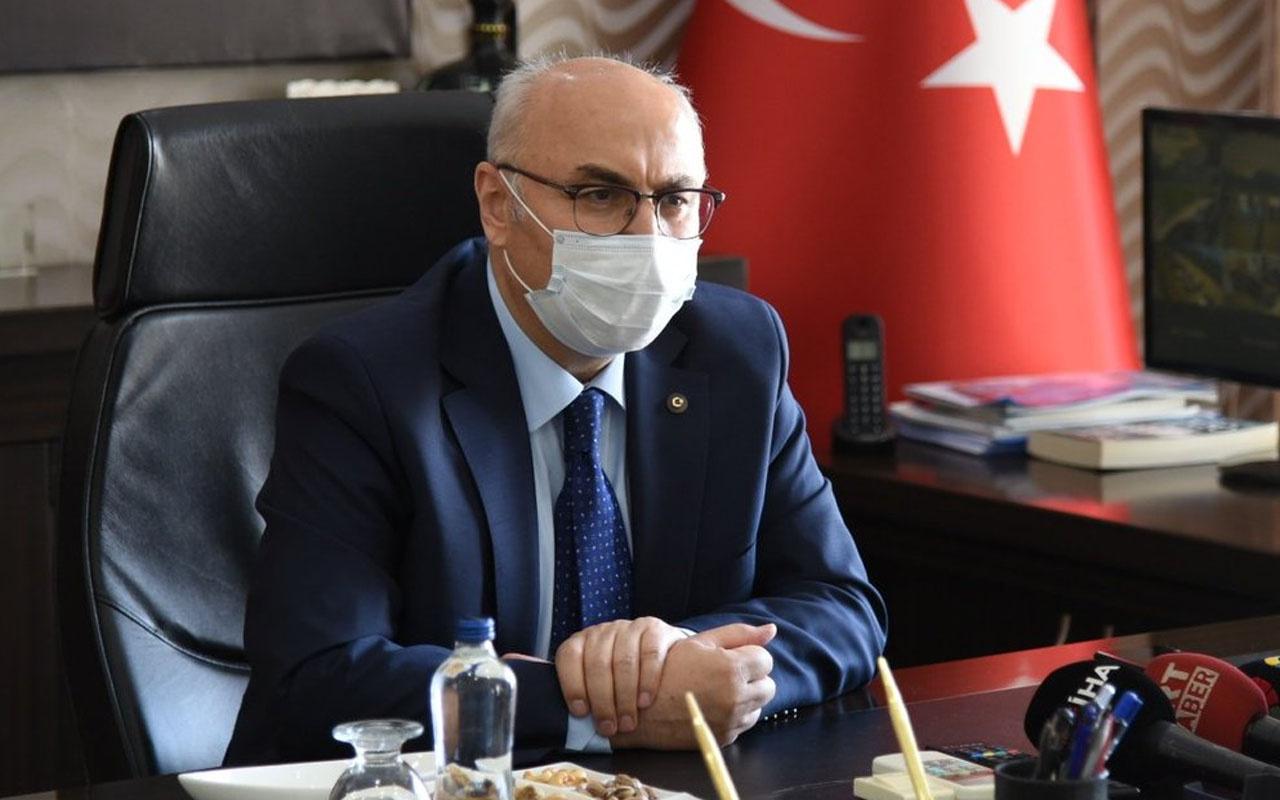 İzmir Valisi Yavuz Selim Köşger'in koronavirüs testi pozitif çıktı