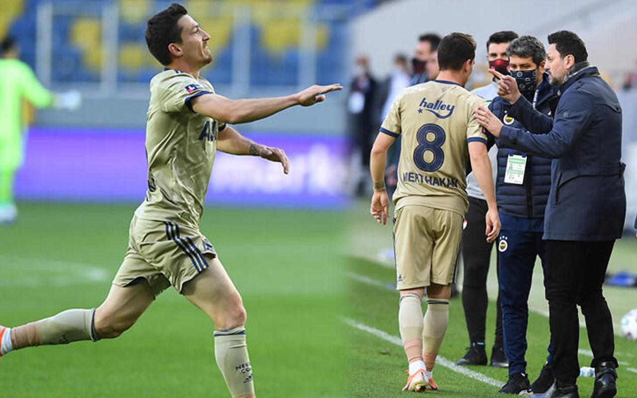 Fenerbahçe'de Mert Hakan Yandaş'ın gol sevinci olay! Taraftar oynanan oyuna kucak açtı