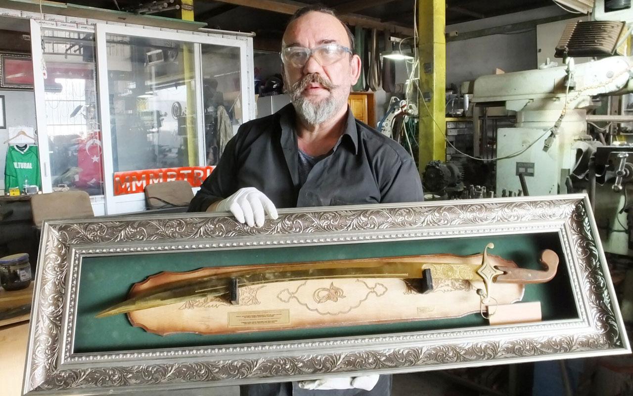 Tarihi diziler Osmanlı kılıçlarına ilgiyi arttırdı taleplere yetişemiyor