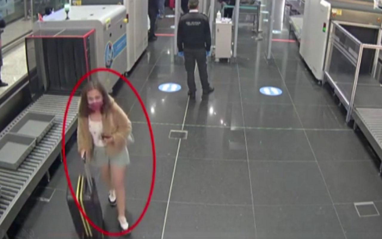 İstanbul Havalimanı'nda PKK'lı kadın terörist böyle yakalandı