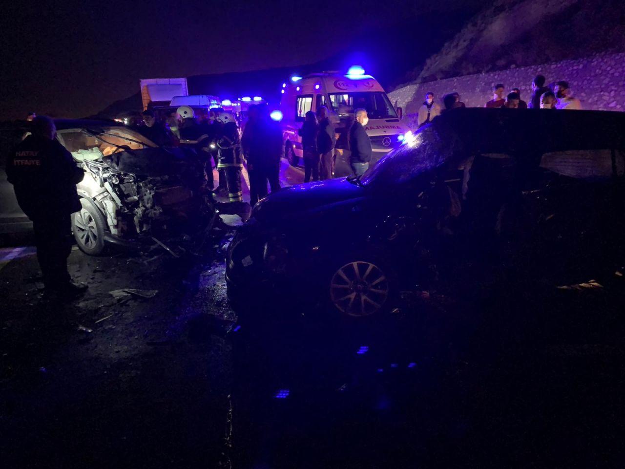 Hatay'da karı koca trafik kazasında öldü geriye kalan fotoğraflar kahretti