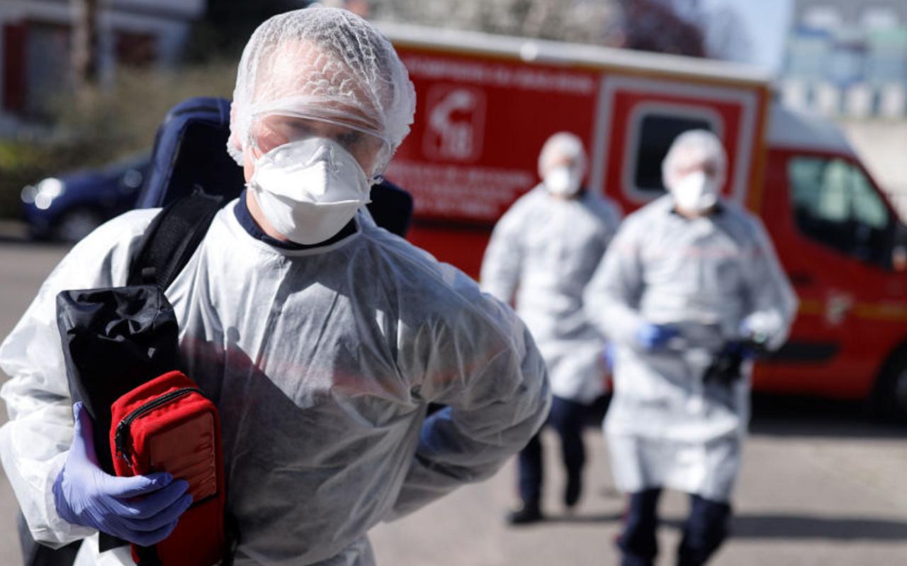Fransa'da son 24 saatte 17 bin 881 yeni vaka tespit edildi