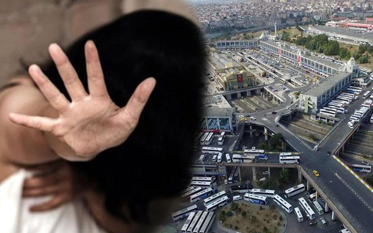 İstanbul'da genç kız otogarda iğrenç tuzak! 'Polisiz' deyip otele götürüp tecavüz ettiler...