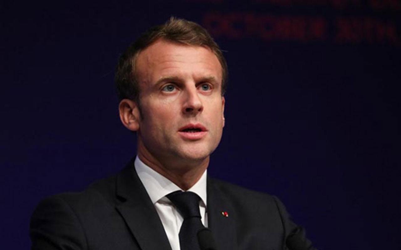 Fransa Cumhurbaşkanı Macron'dan Ermeni derneğine destek ziyareti