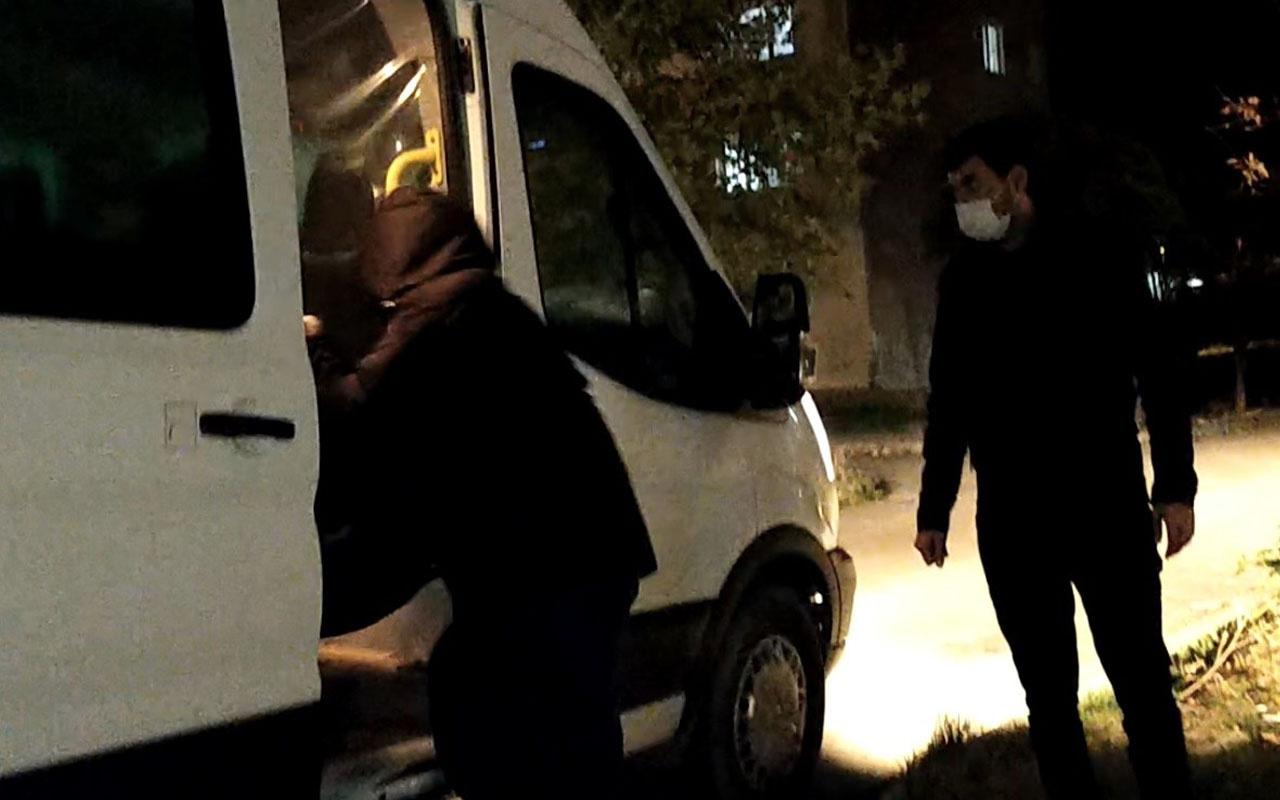 Edirne'de kısıtlama saatlerinde koronavirüs hastası yurttan kaçtı