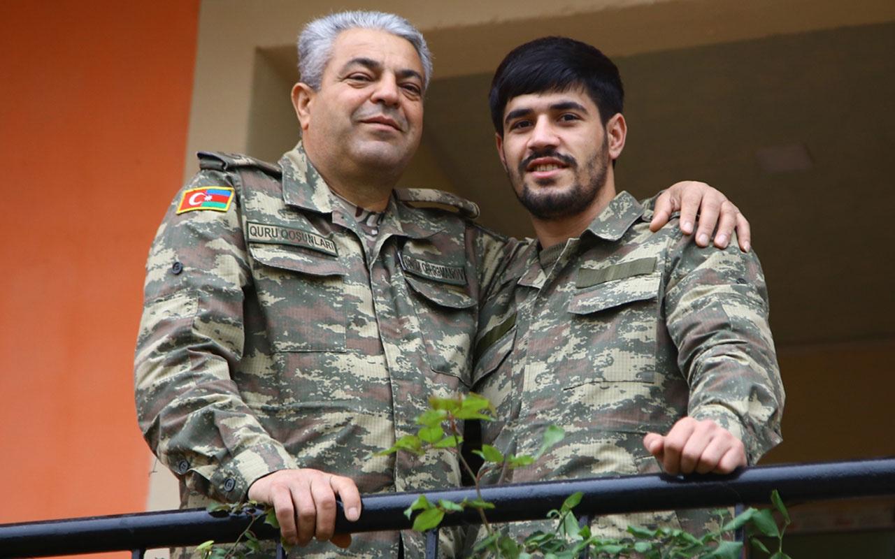 Azerbaycanlı baba oğul omuz omuza çarpışarak köylerini Ermenistan'ın işgalinden kurtardı