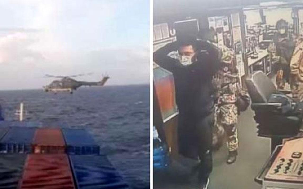 Türk gemisindeki skandal aramayla ilgili AB, Almanya ve İtalya büyükelçilerine nota verildi