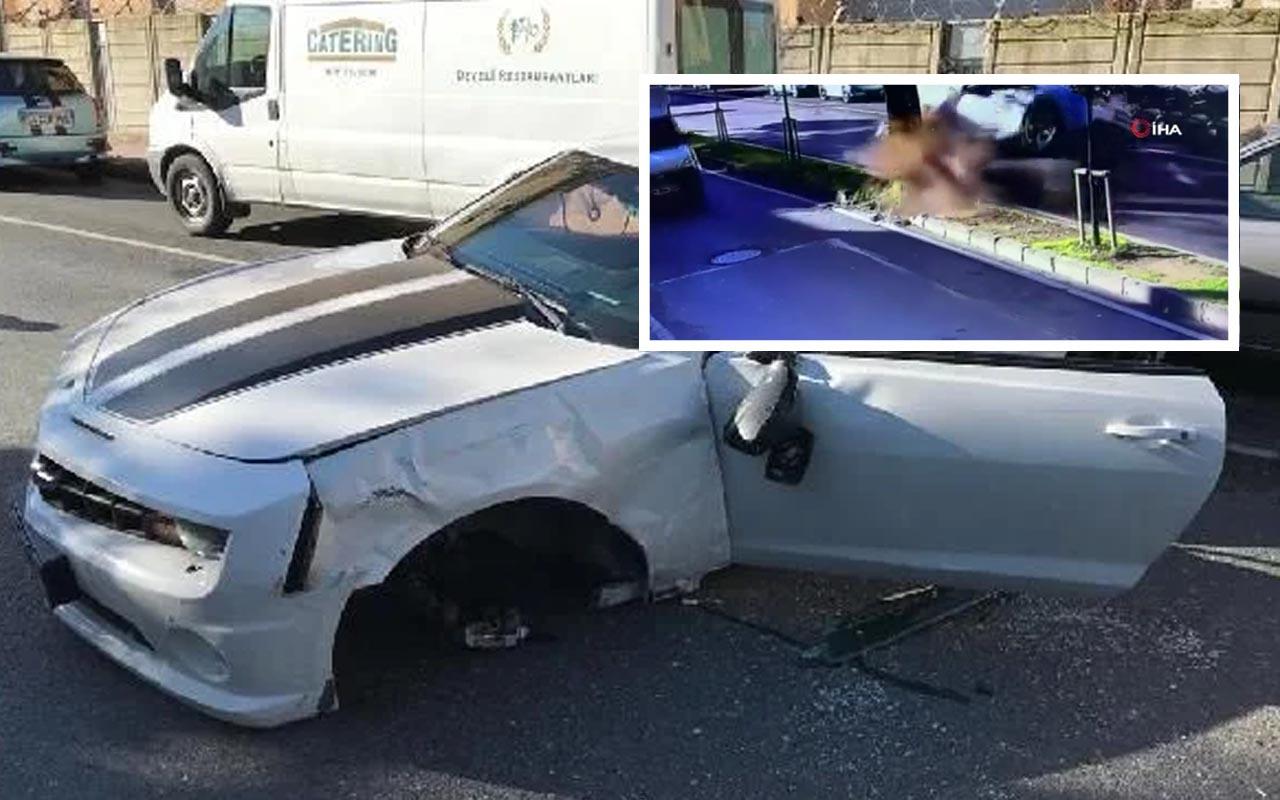 Enes Batur trafik kazası geçirdi! Ölümden döndüğü kaza kamerada