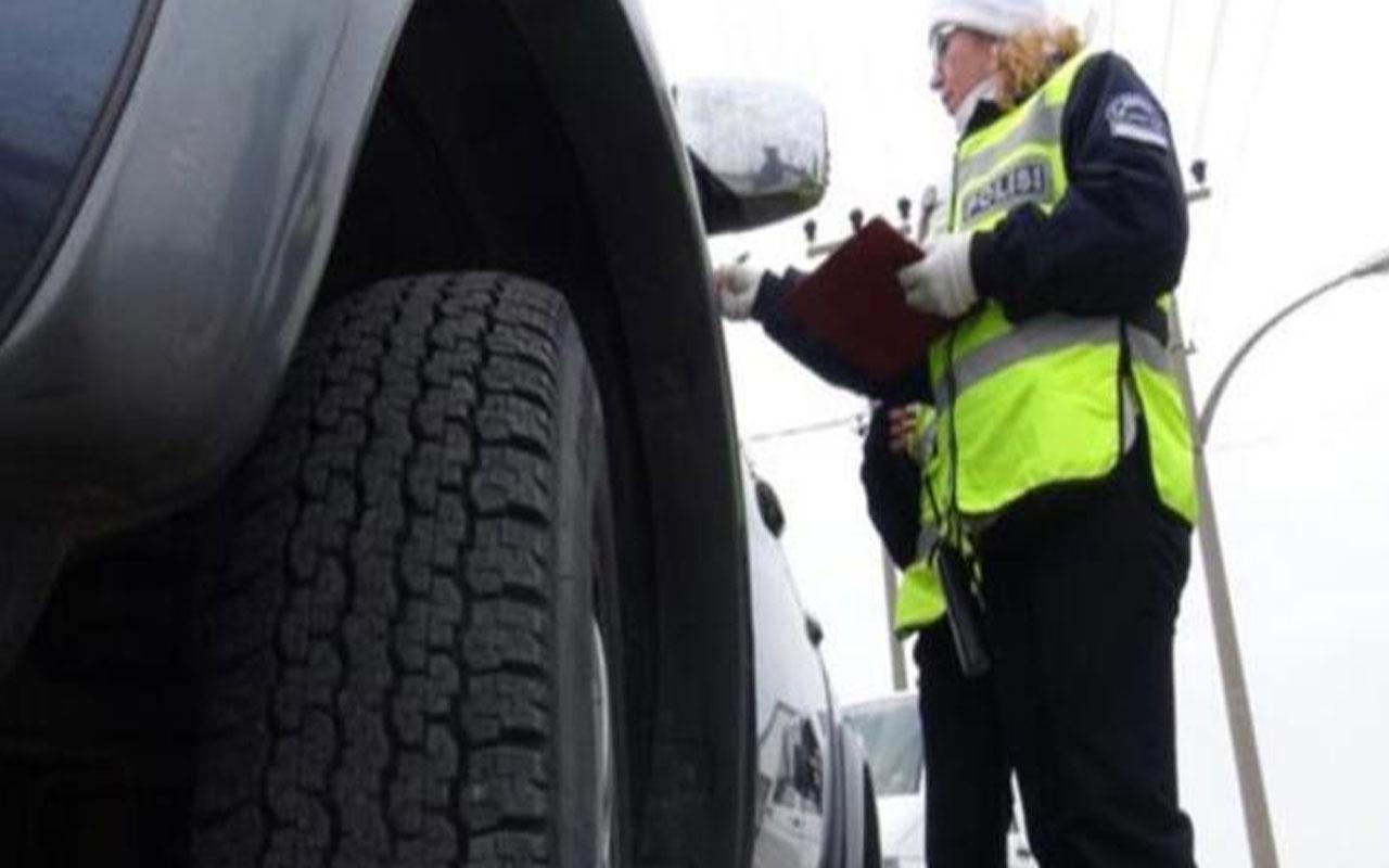 Zorunlu kış lastiği uygulaması başlıyor! Kış lastiği takmayan sürücülere 776 lira ceza kesilecek
