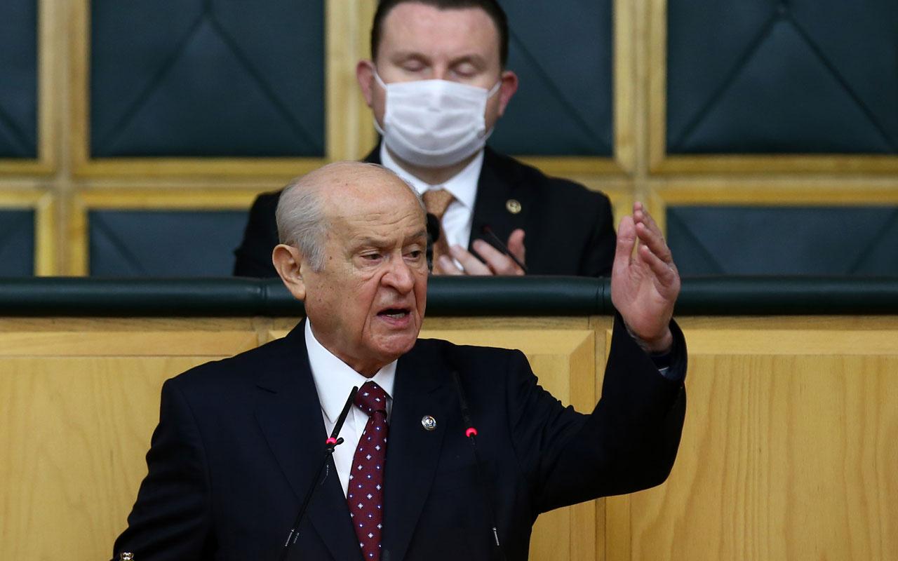 Devlet Bahçeli'den Cumhur İttifakı ve Bülent Arınç tepkisi