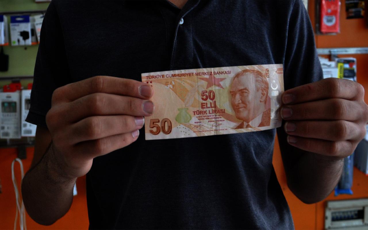 Gaziantep'te hatalı parayı görünce şaşkına döndü! Başına talih kuşu kondu