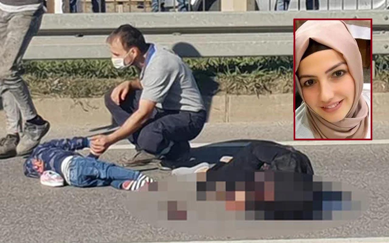 Trabzon'da korkunç kaza kamerada! Anne ölmüş 4 kişi yaralanmıştı