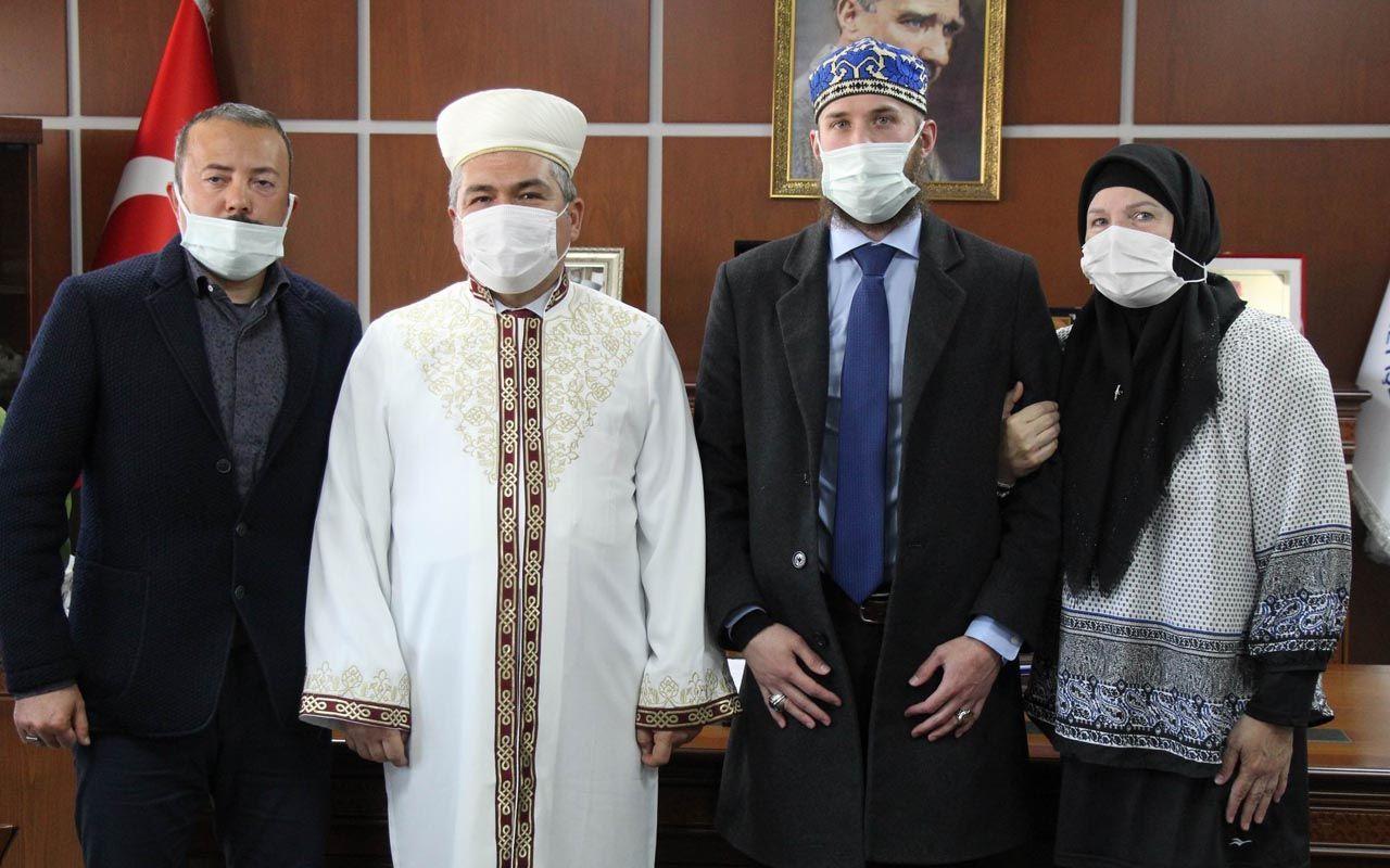 Amerika'dan tatile geldiler Kapadokya'da ezan sesini duyup Müslüman oldular
