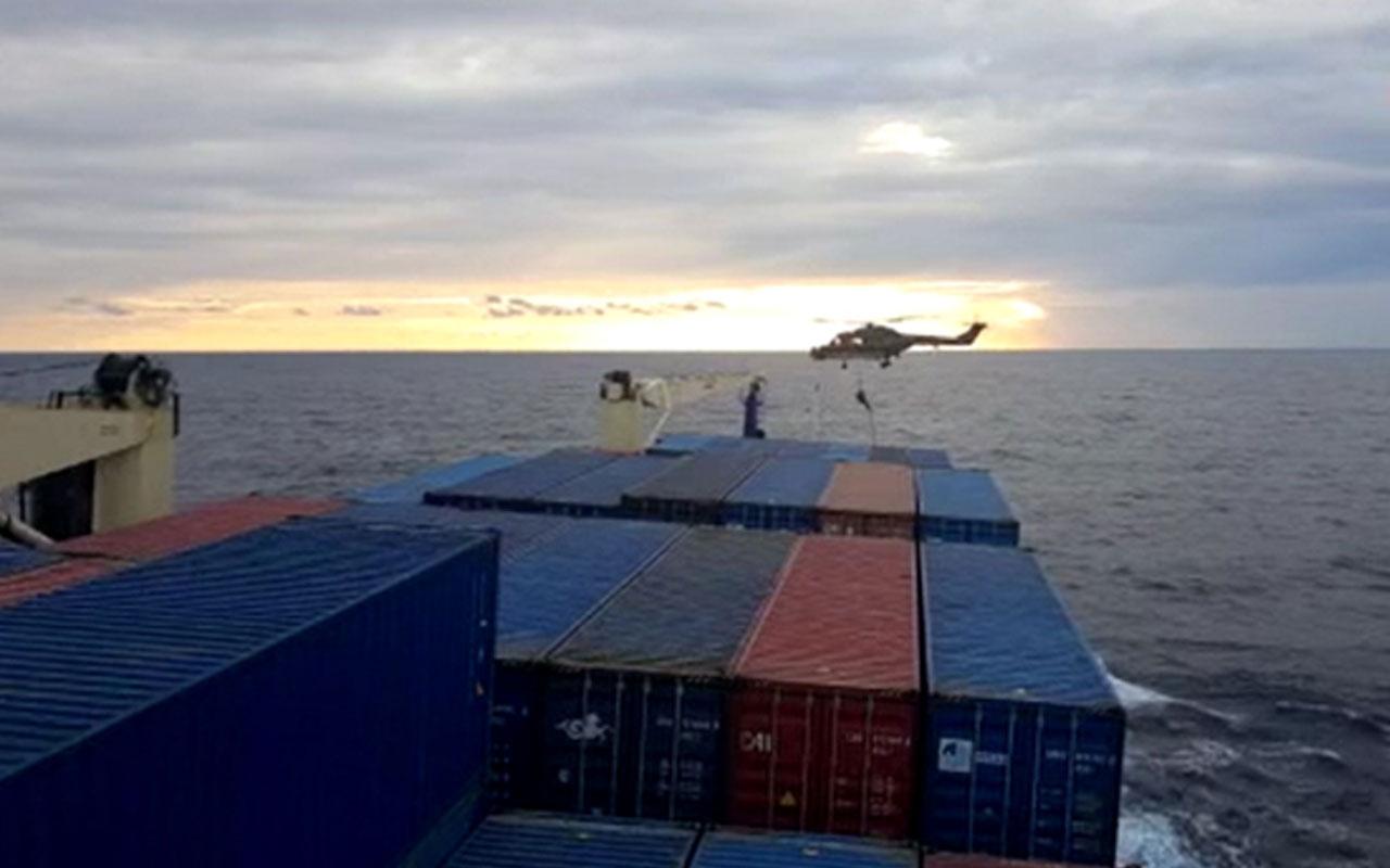 İrini Operasyonu Komuta Merkezi kabul etti: 'Türkiye'den yanıt gelmeden gemiye çıktık'