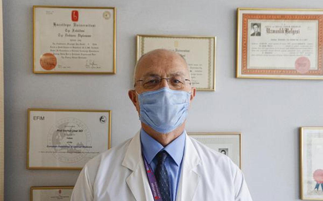 Bilim Kurulu Üyesi Prof. Dr. Serhat Ünal:Tedbirlerle beraber toplumun yüzde 60'ı aşılandığında salgın duracak