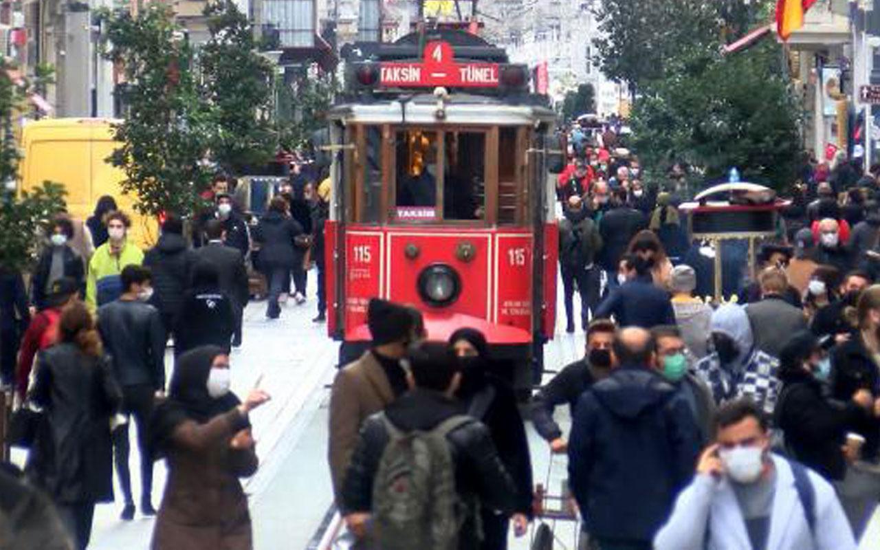 Taksim'de maske ve sigara denetimi! Kuralları yabancılar ihlal ediyor