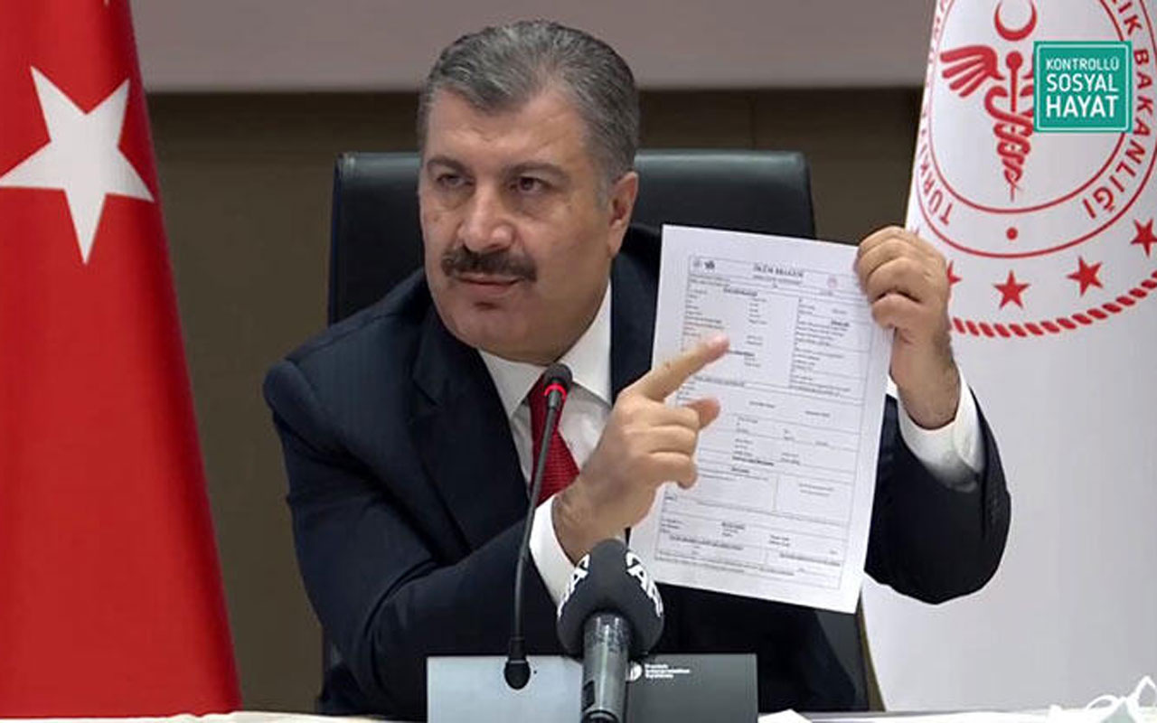Bakan Koca'dan İmamoğlu'nun iddialarına cevap verdi