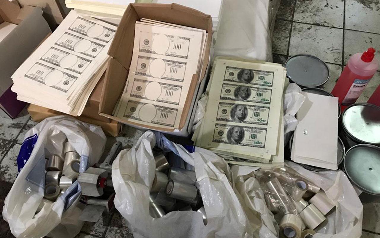 Ataşehir'de sahte para basılan matbaaya nefes kesen operasyon