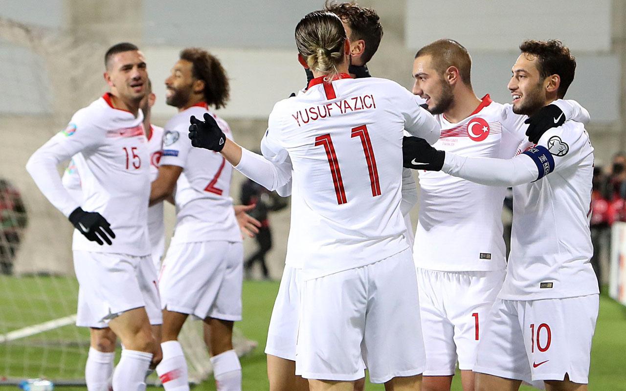 Türkiye, FIFA sıralamasında bir basamak yükseldi