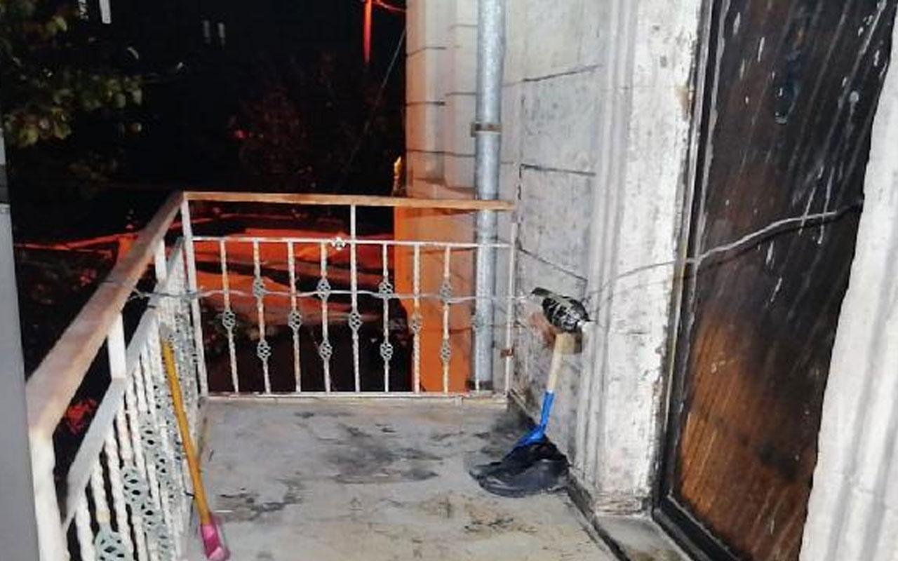 Eşinin kapısına bomba düzeneği kurduğu Hacer Çelik: Evden çıkmamızı istiyorlar