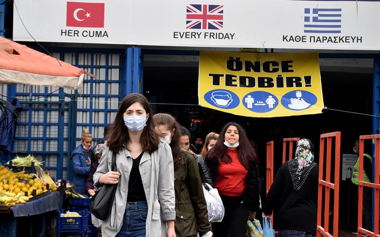 Edirne'de Bulgarların akın ettiği Ulus pazarı 2 hafta süreyle kapatıldı