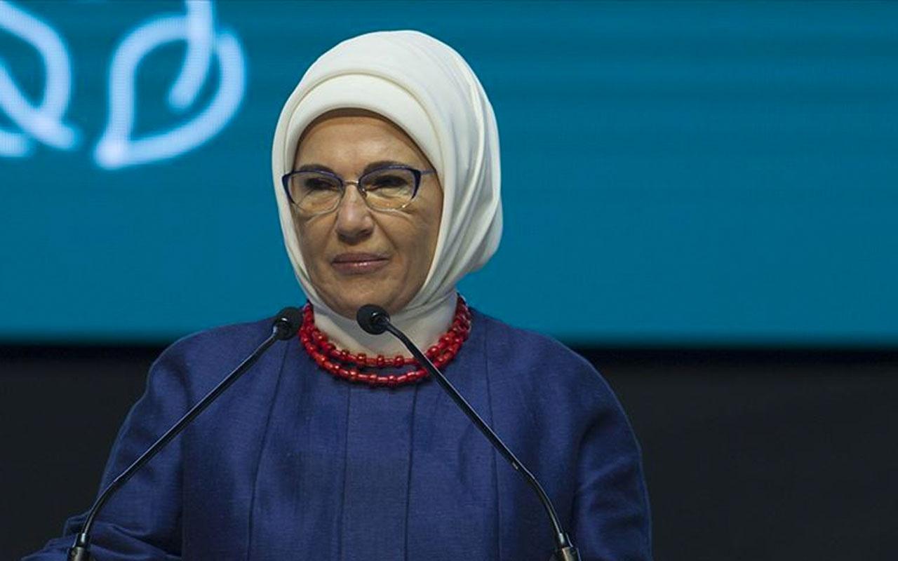 Emine Erdoğan: Katiller mafya babaları zorbalar rol model gibi lanse edilmesin