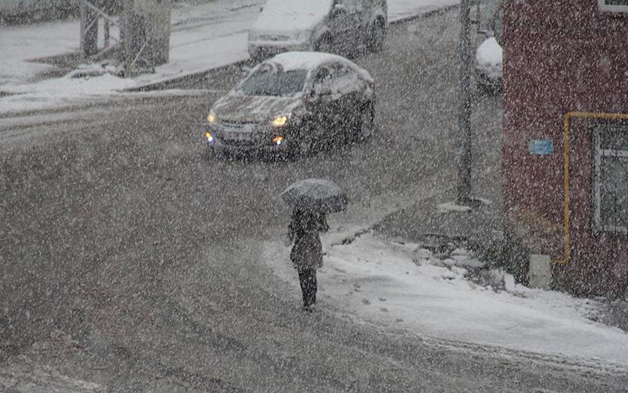 Meteoroloji sağanak ve kar uyarısı yaptı! Bu 7 ildekiler dikkat