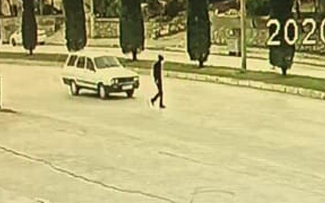 Kahramanmaraş'ta feci kaza kamerada! Metrelerce sürüklendi