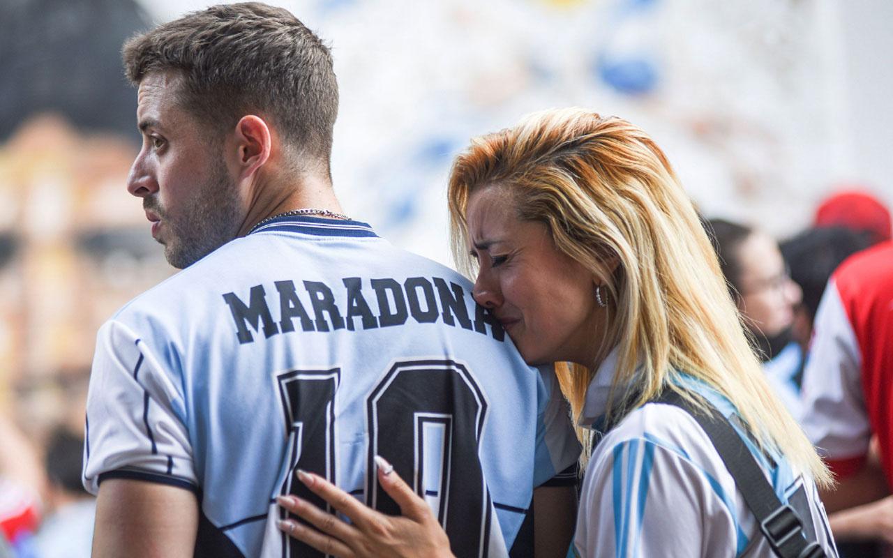 Maradona'nın ölümünde kahreden detay mezar taşına bakın ne yazılacak