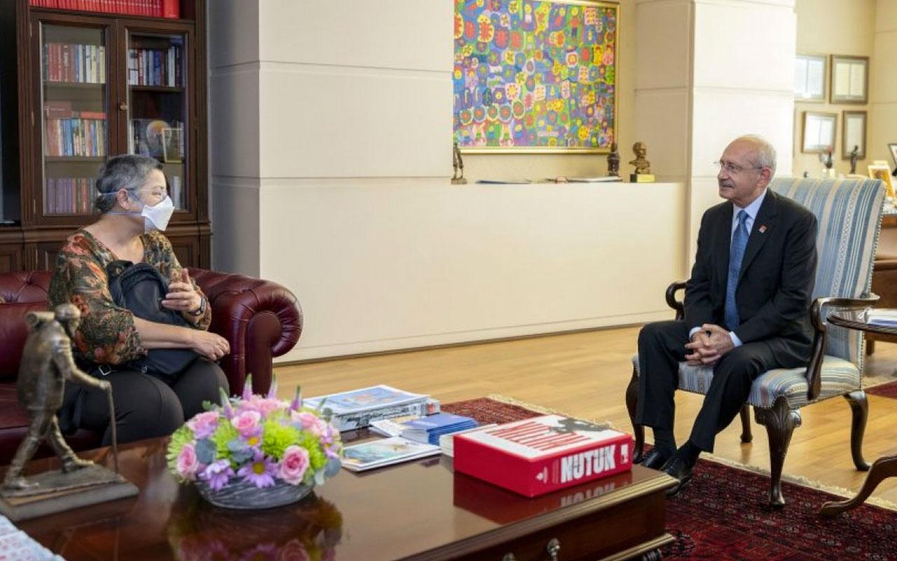 CHP lideri Kemal Kılıçdaroğlu TTB Başkanı Fincancı ve heyetiyle görüştü