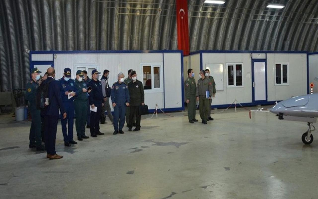 Kazakistan Savunma Bakanlığı heyetinen Türkiye'nin İHA üssüne ziyaret