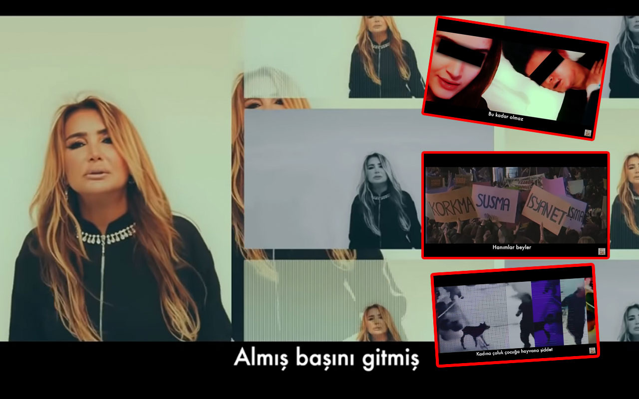 Yonca Evcimik 'Ayıp Şeyler' şarkısıyla tepki çekti sözleri eleştirilerin hedefi oldu
