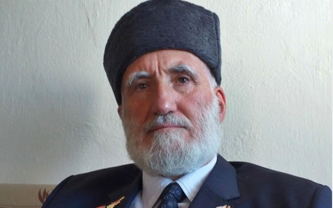 Gümüşhaneli Kıbrıs gazisinden KKTC Cumhurbaşkanı Ersin Tatar'a mesaj