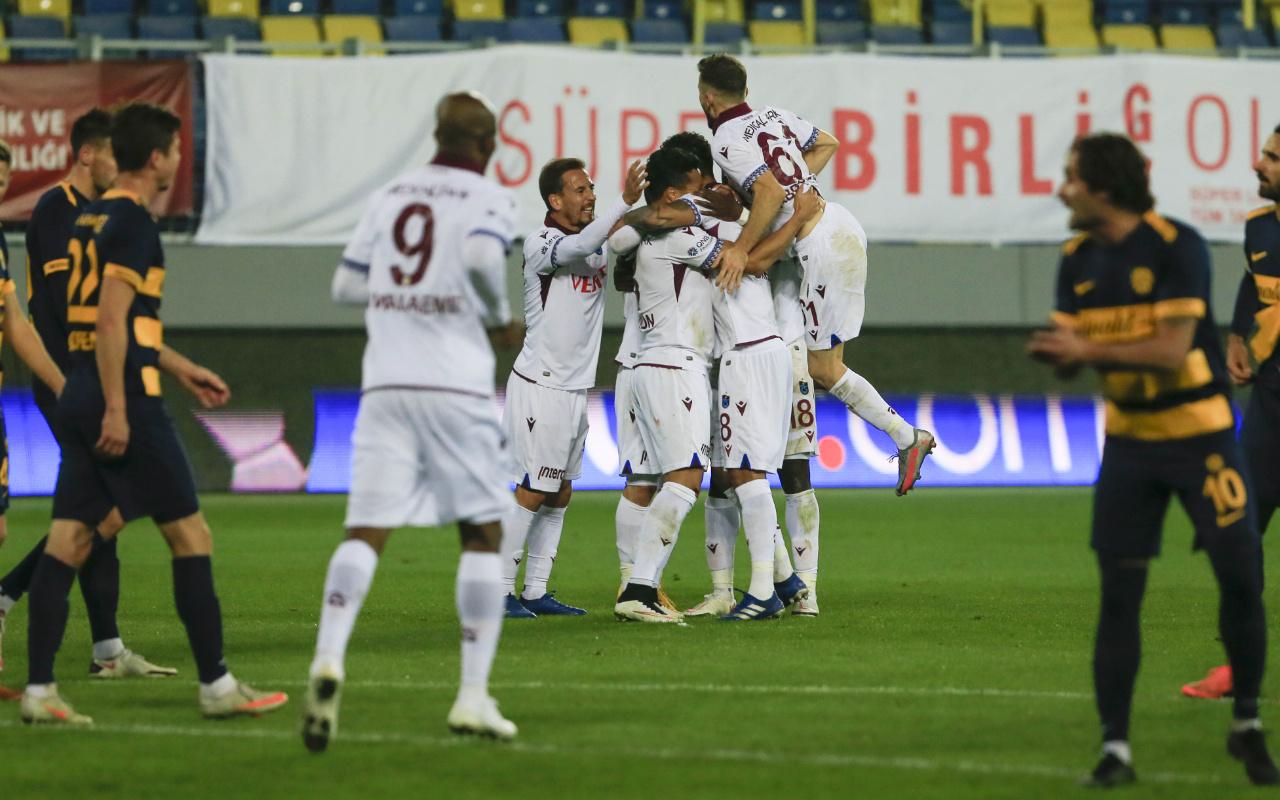 Trabzonspor deplasmanda Ankaragücü'nü tek golle geçti