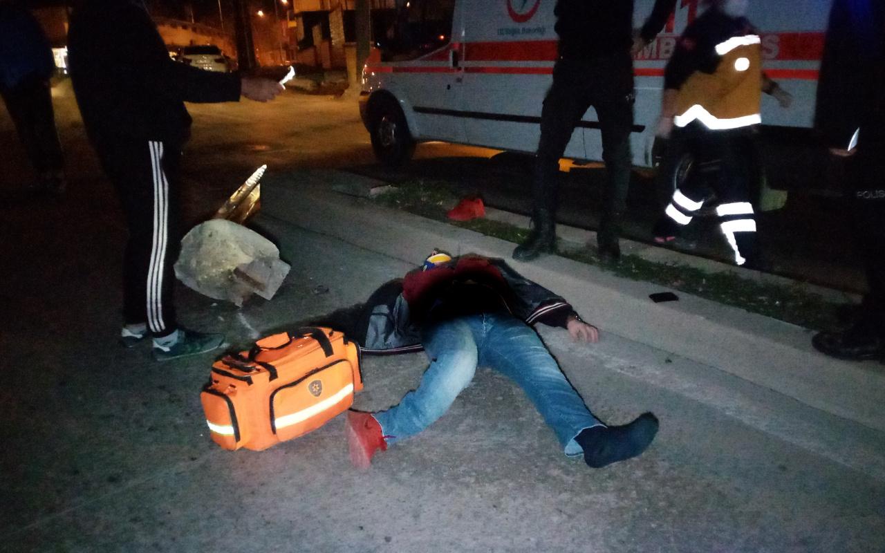 Tekirdağ'da gece yarısı feci kaza! Alkollü sürücü ağır yaralandı