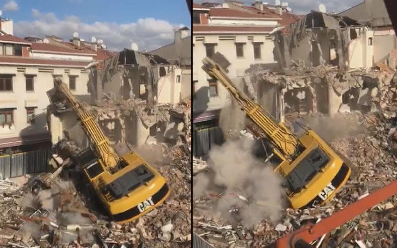İstanbul'da korku dolu anlar! Bakırköy'de her şey saniyeler içinde oldu