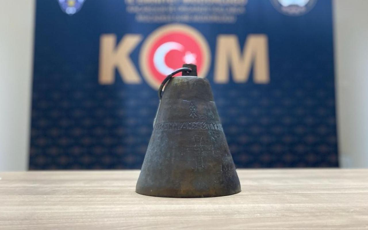 Nevşehir'de 100 yıllık tarihi eseri 5 bin liraya satmaya çalıştı! Operasyonda yakalandı
