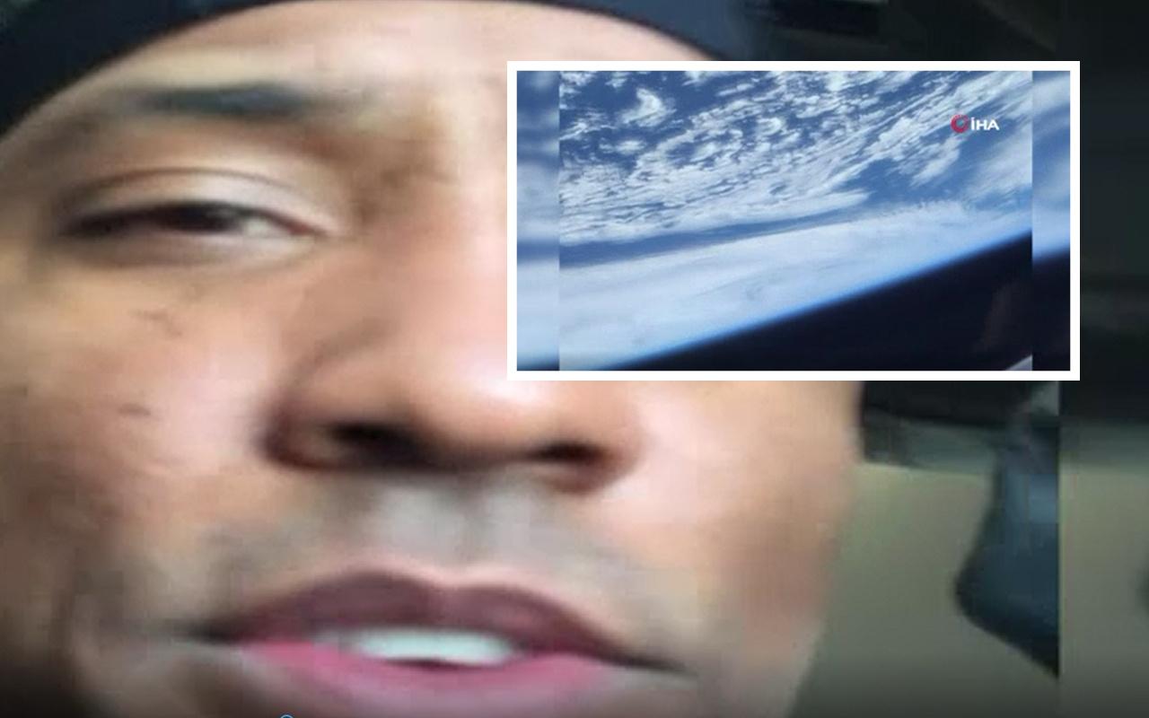 NASA astronotu Dünya'yı yörüngeden görüntüledi! O anlar nefes kesti