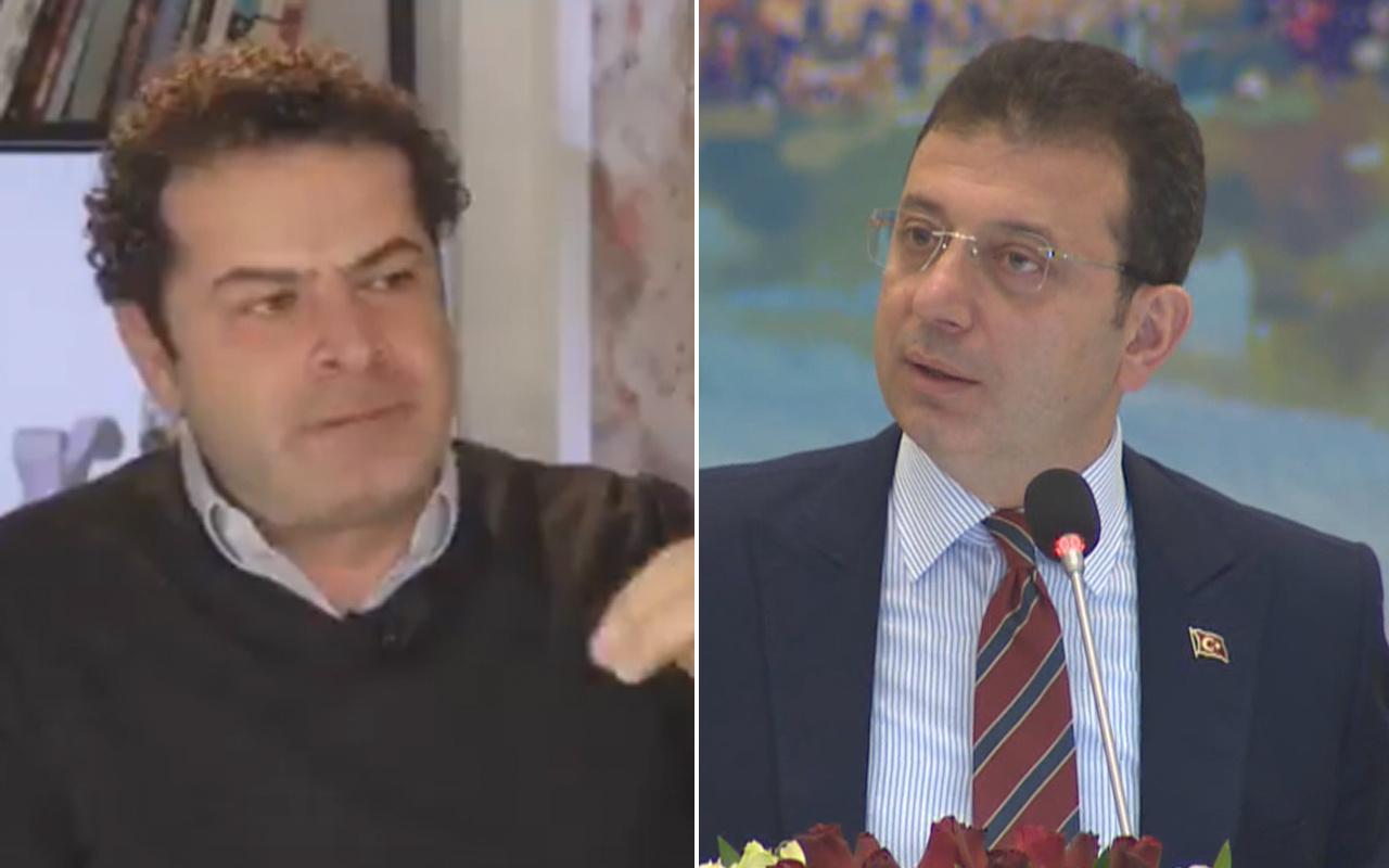 Cüneyt Özdemir lafı eğip bükmedi Ekrem İmamoğlu'nu böyle eleştirdi