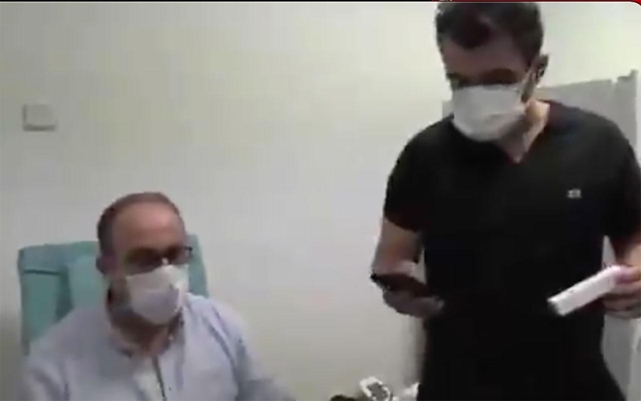 Malatya'da depreme koronavirüs aşısı denerken yakalandılar!