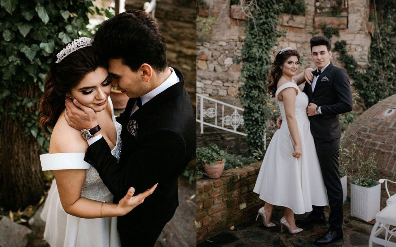 Hanife Gürdal ve eşinin romantik anları! Canlı yayında evlilik teklifi etti