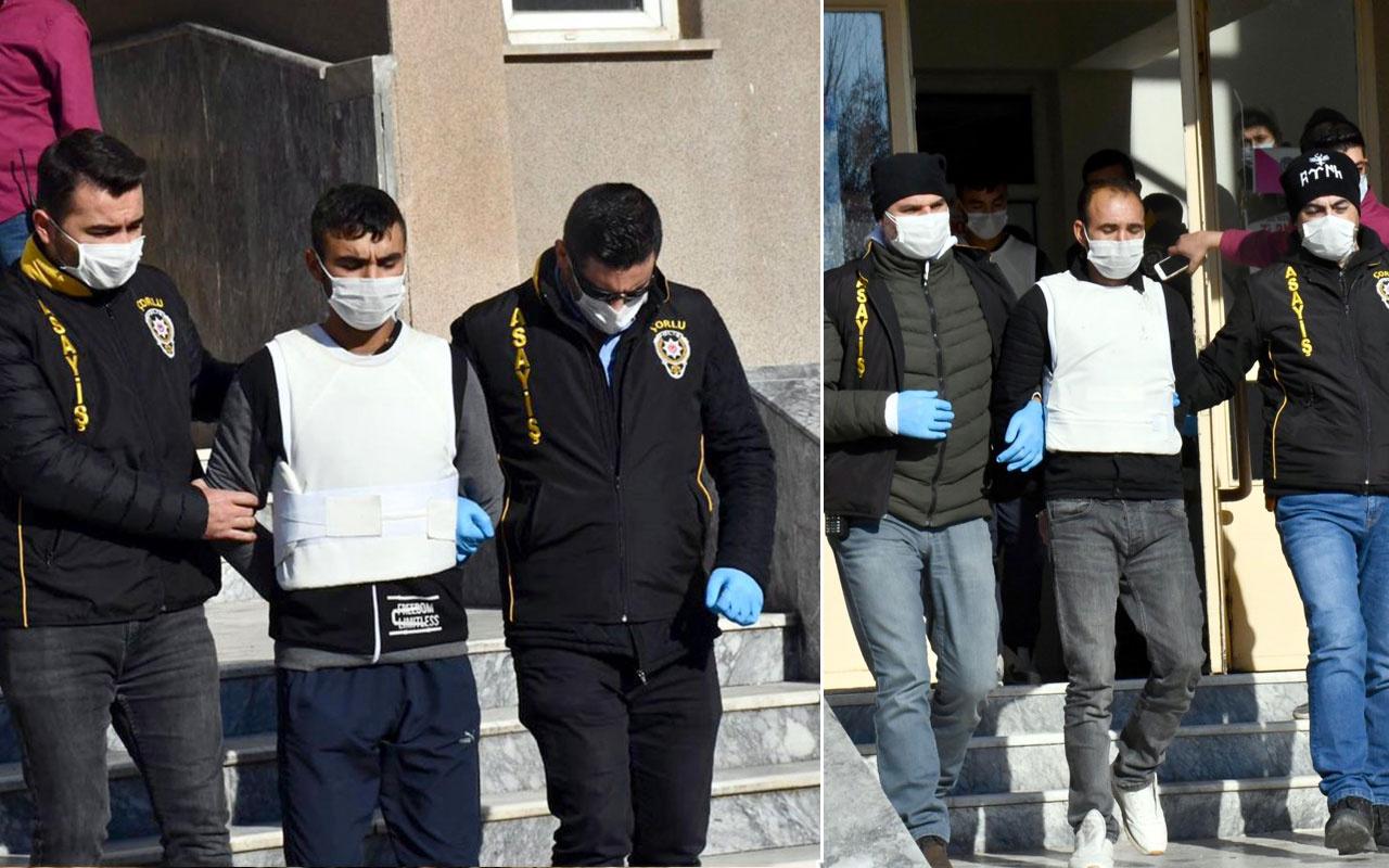 Katil baba ve oğlu İstanbul'da yakalandı Tekirdağ'da iki kişiyi öldürmüşlerdi