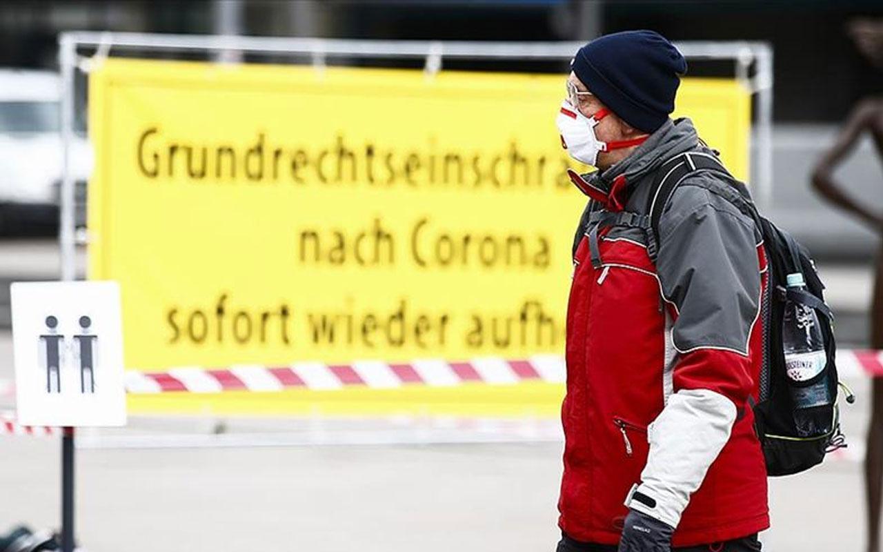 Ülkede durum çok kötü! Almanya'da Kovid-19 vakası sayısı 1 milyonu geçti