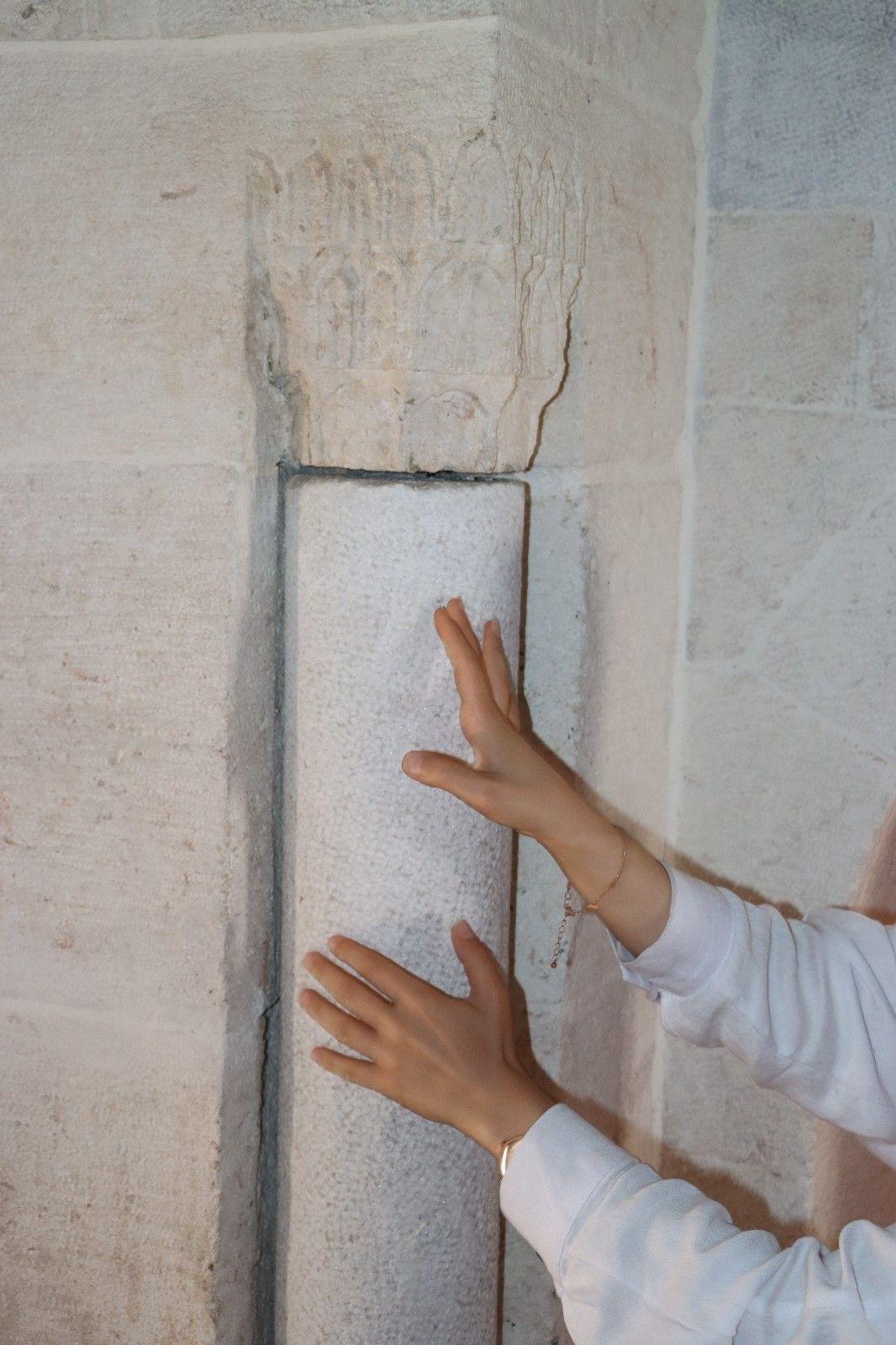 Hatay'da bu camide 500 yıldır dönüyor ziyaretçiler hayranlıkla inceliyor