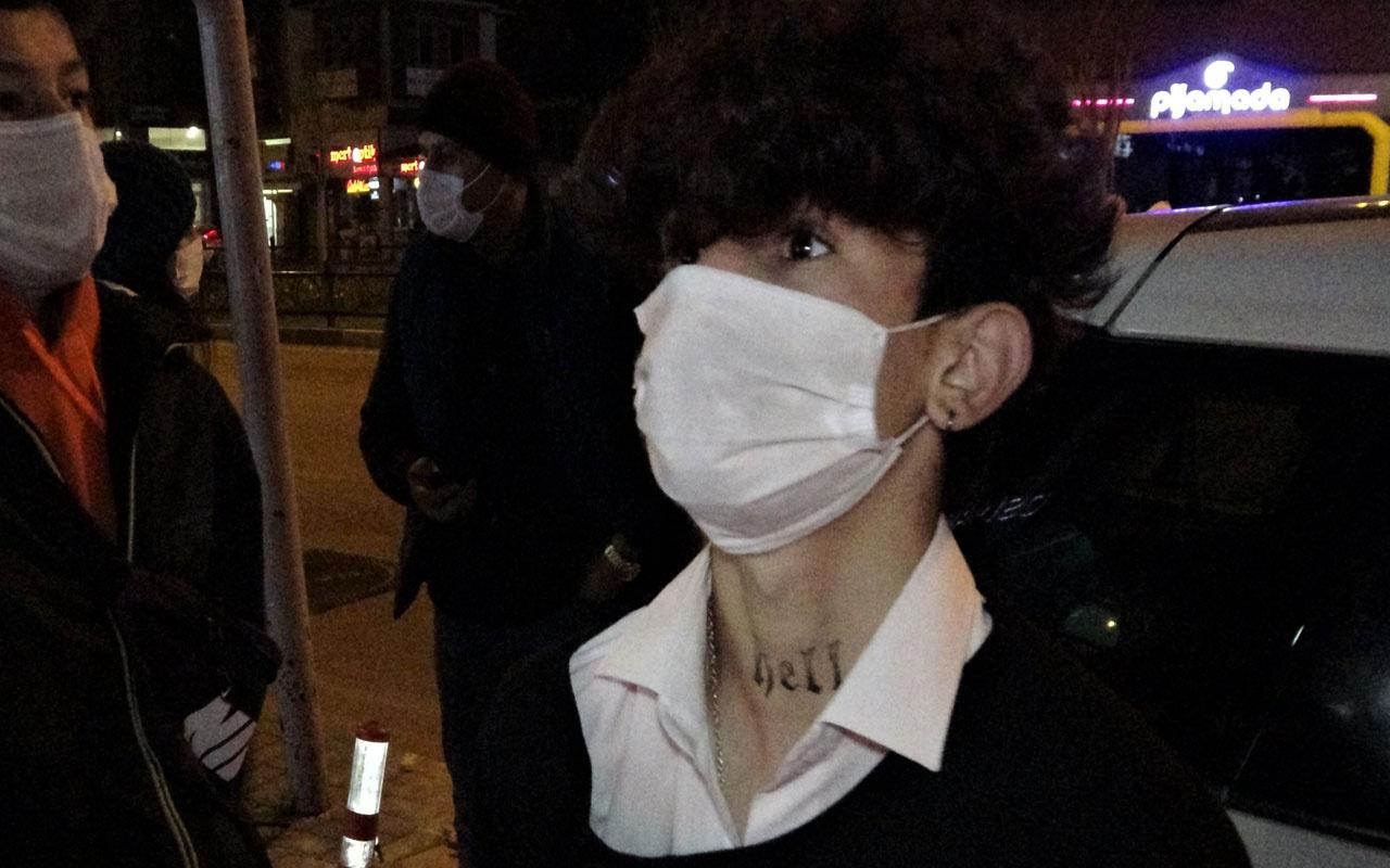 Bursa'da gece yarısı sokakta yakalanan genç: Cezayı duysa annem evlatlıktan reddeder