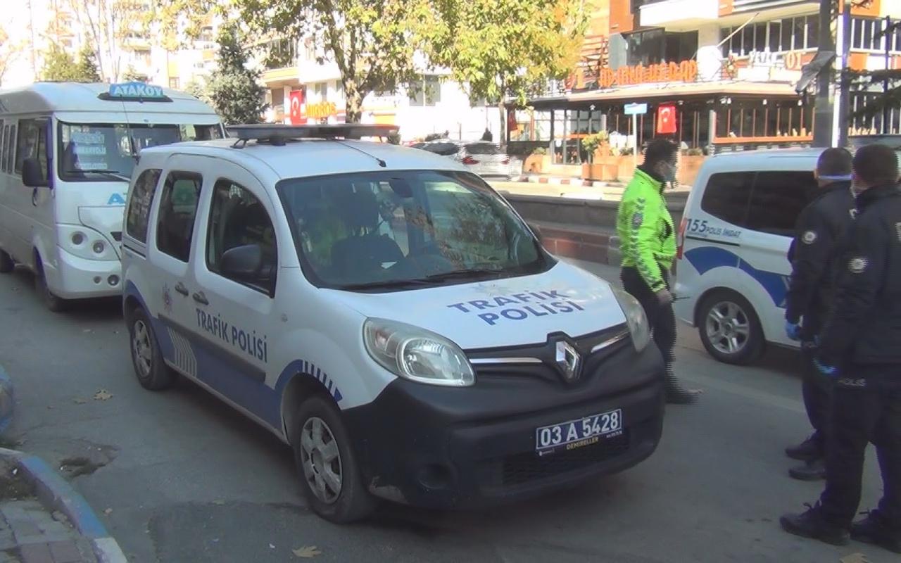 Afyonkarahisar'da koronavirüslü şoför minibüs sürerken yakalandı