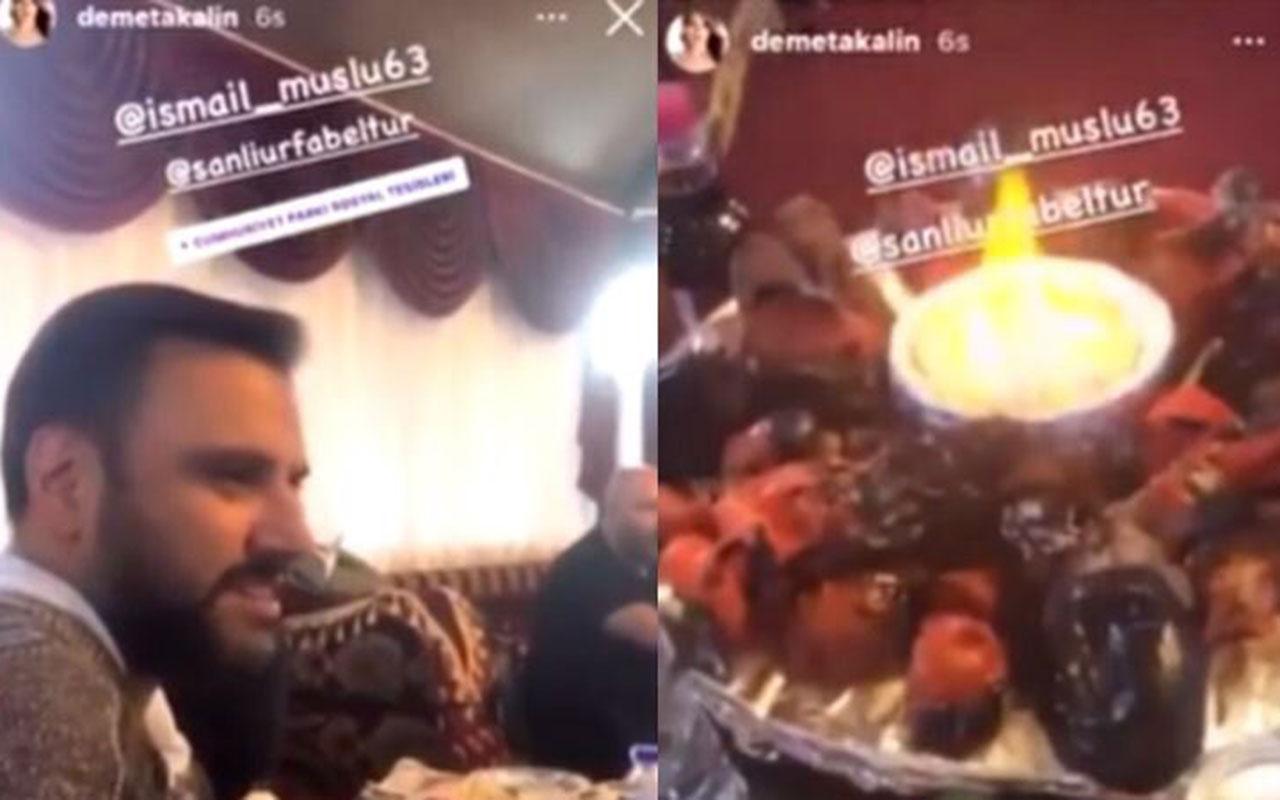 Şanlıurfa Belediyesi Demet Akalın ve Alişan için canlı yayında korona yasağını deldi!