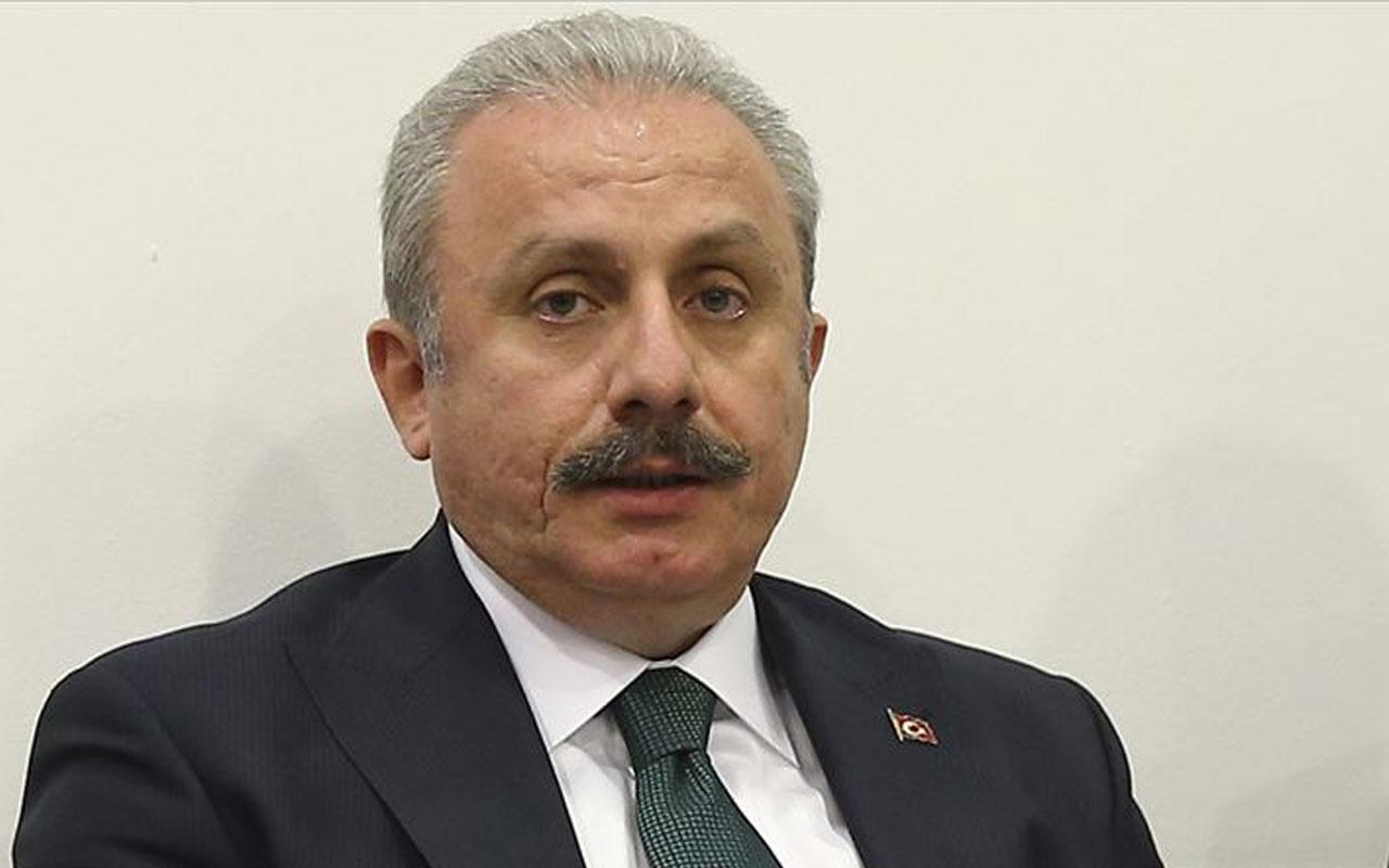 TBMM Başkanı Mustafa Şentop'tan Filistinli babaya taziye telefonu