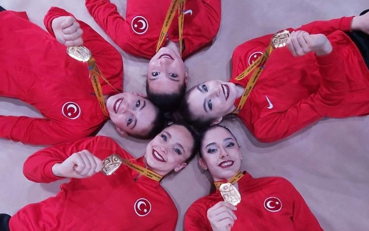 Ritmik Jimnastik Grup Milli Takımı, Avrupa Şampiyonu oldu